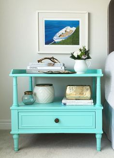 Learn how to paint furniture: Give an old table a new lease on life. Photo by Sarah Gunn.