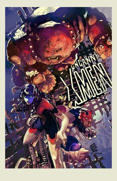 Uncanny X-men by Chris Bachalo.