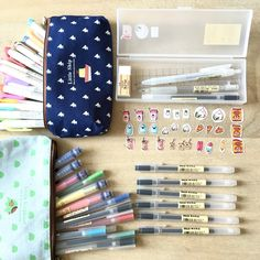 φ(❐_❐✧)メ - ikonicstudy: Muji & Mildliner haul. As well as.