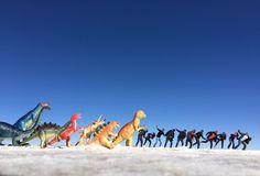 Playing at Salar de Uyuni!
