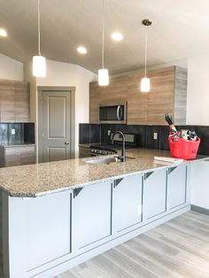 Every Agile Home comes with granite kitchen countertops Kitchen Countertop Materials, Concrete Kitchen, Granite Kitchen, Granite Slab, Granite Countertops, Contemporary Kitchen Design, Fireplace Surrounds, Home Pictures, Updated Kitchen