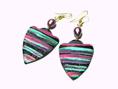 Colorful Chandelier Earrings Colorful Earrings by LunaEssence