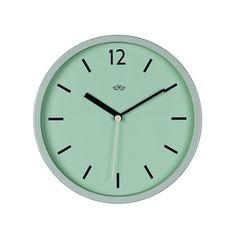 Reloj de Pared Retro Verde