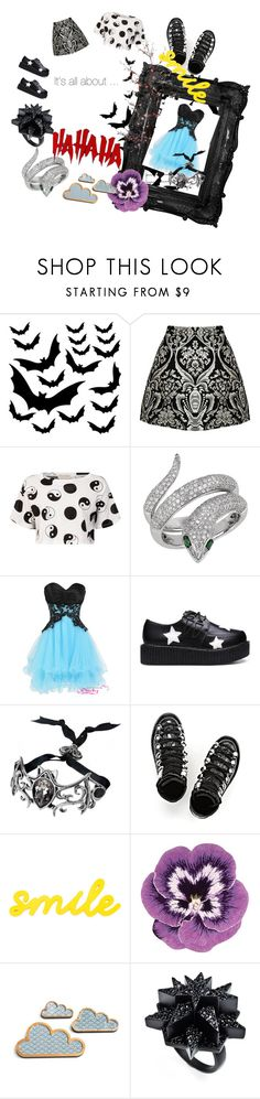 """_It's× AlL¤abOUt》`°○□>"" by takinagaaoi ❤ liked on Polyvore featuring Alice + Olivia, Être Cécile, Effy Jewelry, Alexander Wang, Nourison, Venom and Eddie Borgo"