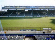 The Kippax, Maine Road, Manchester Capacity in the 1980's of 26,000 @TerraceImages @mcfc_history @MCFC