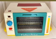 Hey, I found this really awesome Etsy listing at https://www.etsy.com/ca/listing/256005708/1987-fisher-price-vintage-toaster-oven