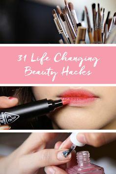 31 Life-Changing Beauty Hacks via @PureWow