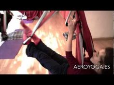 Yoga Swing. More Inspiration for aerial anti gravity yoga swing, fitness, pilates and personal growing (AeroYoga® and AeroPilates® Coaching For Life). www.aeroyogausa.com www.yogaswing.es Anti Gravity Yoga, Postural, Fitness Pilates, Suspension Training, Pilates Video, Aerial Yoga, Free Yoga, Yoga Teacher Training, Teachers