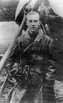"Wilfrid Reid ""Wop"" May OBE DFC (March 20, 1896 – June 21, 1952), was a Canadian flying ace in the First World War and a leading post-war aviator. He was the final allied pilot to be pursued by Manfred von Richthofen before the German ace was shot down on the Western Front in 1918. After the war, May returned to Canada pioneering the role of a bush pilot while working for Canadian Airways in Northern Alberta and the Northwest Territories."