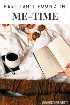 How do you view rest? What comes to mind when you think about it? I can picture it now…a cozy blanket, Pride and Prejudice (the old one), a creamy cup of coffee and yarn and hook in hand. Maybe for you it's a nap or a book and some hot tea. Whatever it is, most humans...