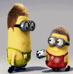 *REUS & GOTZE MINION ~ Despicable Me II, 2013