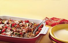 Cheesy Beef and Tomato Casserole