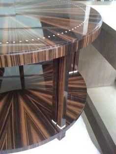 Ruhlmann Deco Macassar Ebony Side Table