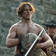 """Jamie before the second flogging. (""""The Garrison Commander"""" - 1x06)"""