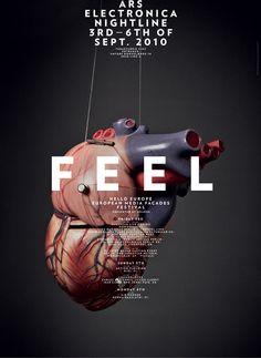 FEEL poster by Studio Es