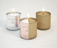 TOM DIXON Eclectic Scented Candles