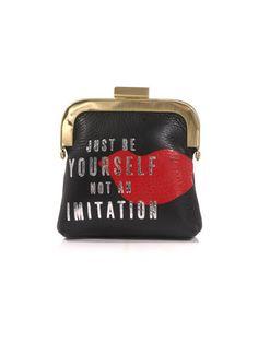 Cute Diane Von Furstenberg Mantra coin purse Diane Von Furstenberg Mantra  coin purse Back To Black 773bba937cd