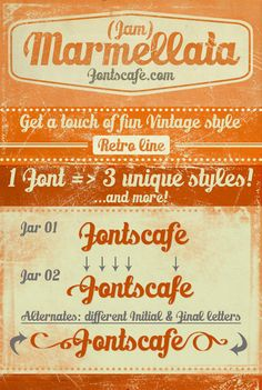 Marmellata Jam Font   dafont.com - free font