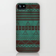 Harry Potter Tribal Print iPhone Case  I want ! need this...also, need to get an iphone...