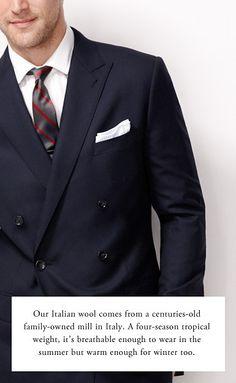 Men's Suits, Suiting Dress Shirts - Men's Black Suits, Italian Chino Suits Men's Vests Ties - J. Men's Vests, Fashion Ideas, Men's Fashion, Black Suit Men, Vest And Tie, J Crew Men, Tailored Suits, Well Dressed Men, Dress Suits