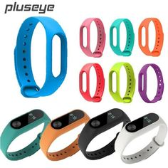 For Xiaomi Mi Band 2 Bracelet Strap Miband Colorful Strap Wristband Replacement Smart Band Accessories For Mi Band 2 Silicone Watch Bands, Bracelets, Electronics, Colorful, Sports, Stuff To Buy, Mobiles, Accessories, Computers
