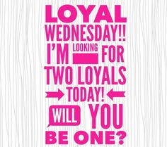 Wrap it Wednesday! Sign up as a loyal customer and I will hand deliver a free wrap to your front door!!!