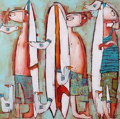 Manyung Gallery Group Janine  Daddo Just Hangin