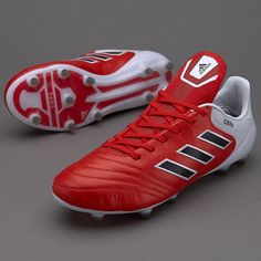 hot sale online 07c65 17ea9 2018 FIFA World Cup Adidas Copa 17 1 FG Soccer Cleats mens red Core Black  White