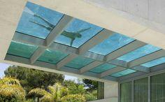 Piscina en el tejado