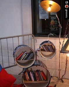 #Repost @groovru with @repostapp Drummer's Reading Nook Complete with a cymbal light #drum #drums #drumming #groovru #drummer #drumming #music #drummers #drumlife #daytimenightlife #drumstick #drumsticks #cymbal #music #drumline #drumcorps #drumset #cymbals #drummers_corner #drummersclub #drumsoutlet #drumporn #moderndrummer #drummingco #drummerdotcom #drumheadspod #drumscripts by nocturnalprayer