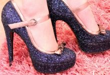 i want some sparkly heels!!