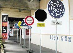 Gérard Paris-Clavel, exposition au Festival de l'affiche de Chaumont, 2001