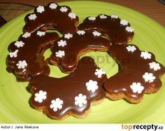 Mandlové obláčky Gingerbread Cookies, Pancakes, Pudding, Breakfast, Food, Hampers, Diet, Gingerbread Cupcakes, Morning Coffee