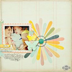 Such a Lovely Day {Studio Calico June Kits} - Club CK - The Online Community and Scrapbook Club from Creating Keepsakes