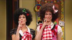 Drew Barrymore & Kristen Wiig on SNL - Gilly & Gigli