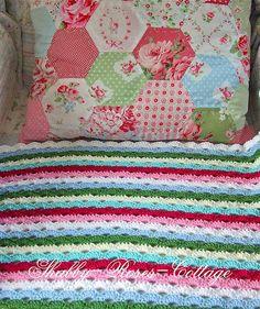 WIP - new crochet blanket, via Flickr.