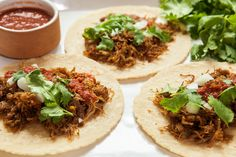 I don't know of a better way to turn 3 pounds of pork shoulder into dinner Or a dinner party Carnitas can be simply rolled into a corn tortilla, or used as the basis for something more ambitious, like tamales or empanadas