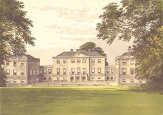 NUNEHAM PARK, Oxfordshire, Abingdon, Berkshire (Harcourt) 1894 old print   eBay