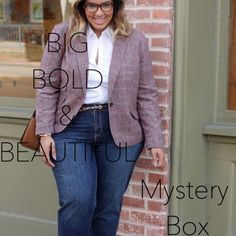 BIG BOLD & BEAUTIFUL MYSTERY BOX // NWT THIS IS THE FIRST AND ORIGINAL LISTING FOR BIG BOLD & BEAUTIFUL MYSTERY BOX, Big Bold Beautiful.... In today's world curvy is the new black.  We love our body, mind and soul. I want you to feel just as good in your clothes. I will transform your look from comfy and chic. I will send you 4-5 items styled just for you. Brands might include: Lane Bryant, Calvin Klein, Coldwater, Chico's, Talbots , & More.Size is just a number , When life gives us curves…