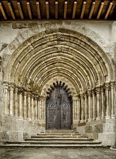 Church of San Pedro de la Rua , Estella-Lizarra, Spain  www.liberatingdivineconsciousness.com