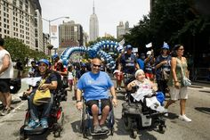 NYC's 1st Disability Pride parade 2015.
