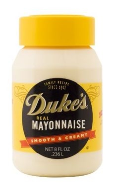 Duke's Mayonnaise is available mostly in the South