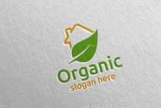 Home Natural and Organic Logo 35 by denayunebgt on @creativemarket