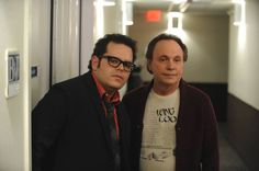 """Josh Gad and Billy Crystal star as themselves in FX's new mockumentary series, """"The Comedians."""""""