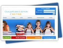Site de présentation avec back office sur mesure de gestion de clients et d'actualités.  Création de logo, référencement