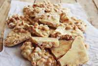 Sweet and Spicy Peanut Brittle - A Beautiful Mess