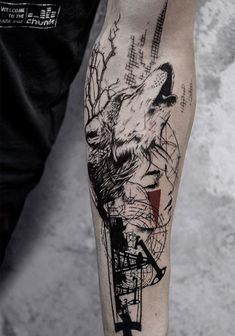 Koit wolf tattoo