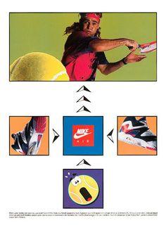 Nike Air Tech Challenge IV Ad (1991)