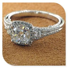 Most Loved Cushion Cut Engagement Rings Vintage princess cut engagement ring. I would dieVintage princess cut engagement ring. I would die Engagement Ring Cuts, Wedding Engagement, Wedding Rings, Solitaire Engagement, Wedding Jewelry, Engagement Jewellery, Princess Rings, Engagement Rings On A Budget, Dream Wedding