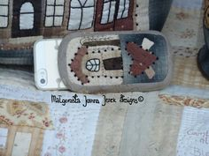 The Dutch Townhouses bag & iPhone cosy© PDFpattern by